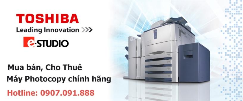 Ban may photocopy toshiba chinh hang 100 gia tot nhat HCM